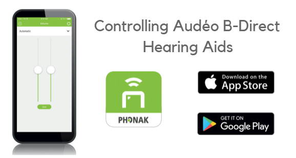 Phonak Audéo B-Direct Made For All Hearing Aid | ZipHearing